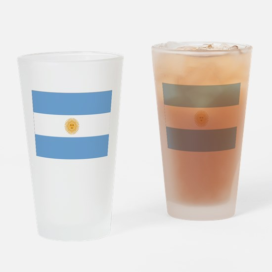 Argentina Flag Drinking Glass