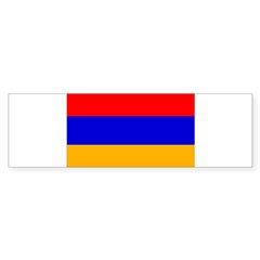Armenia Flag Bumper Sticker
