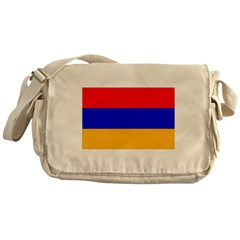 Armenia Flag Messenger Bag