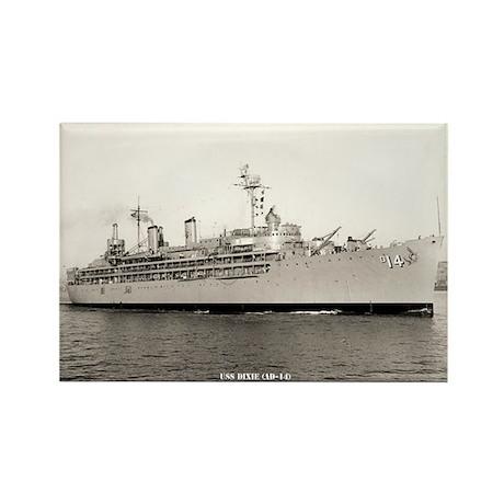 USS DIXIE Rectangle Magnet