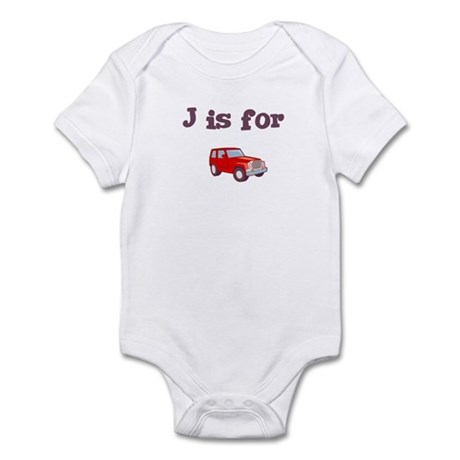 J is for Jeep Infant Creeper