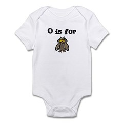 O is for Owl Infant Creeper