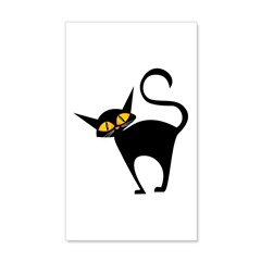 Black Cat 38.5 x 24.5 Wall Peel