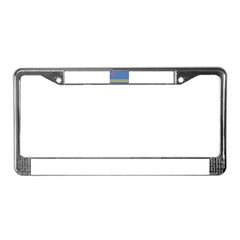 Aruba Flag License Plate Frame