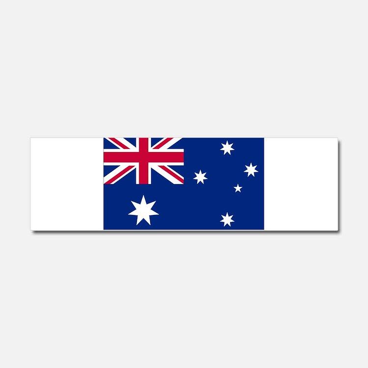Australia Flag Car Magnet 10 x 3
