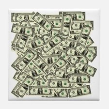 Money! $100 to be exact! Tile Coaster