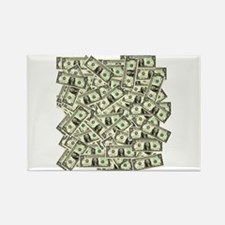 Money! $100 to be exact! Rectangle Magnet