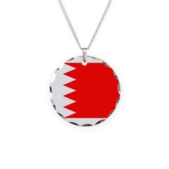 Bahrain Flag Necklace