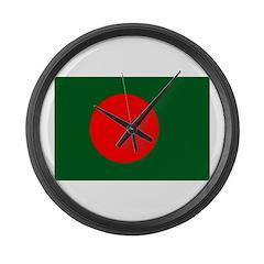 Bangladesh Flag Large Wall Clock