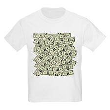 Money! $100 to be exact! Kids T-Shirt