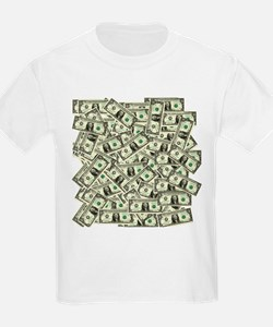 Money! $100 to be exact! Kids T-Shirt