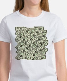 Money! $100 to be exact! Women's T-Shirt
