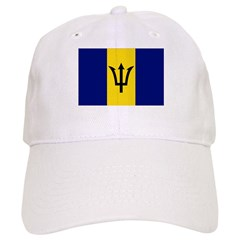 Barbados Flag Baseball Cap