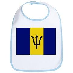 Barbados Flag Bib