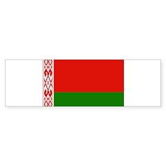 Belarus Flag Bumper Sticker