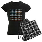 American Flag Creative Women's Dark Pajamas