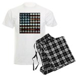 American Flag Creative Men's Light Pajamas