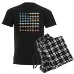 American Flag Creative Men's Dark Pajamas