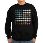 American Flag Creative Sweatshirt (dark)