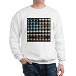 American Flag Creative Sweatshirt