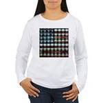 American Flag Creative Women's Long Sleeve T-Shirt