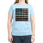 American Flag Creative Women's Light T-Shirt
