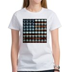 American Flag Creative Women's T-Shirt