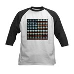American Flag Creative Kids Baseball Jersey