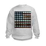 American Flag Creative Kids Sweatshirt