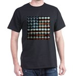 American Flag Creative Dark T-Shirt