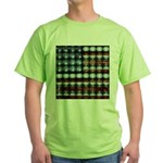 American Flag Creative Green T-Shirt
