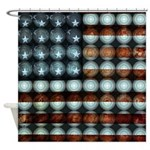 American Flag Creative Shower Curtain