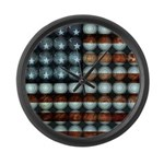 American Flag Creative Large Wall Clock