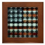 American Flag Creative Framed Tile