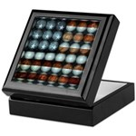 American Flag Creative Keepsake Box