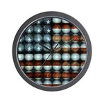 American Flag Creative Wall Clock