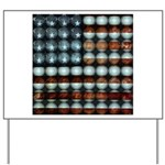 American Flag Creative Yard Sign