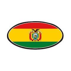 Bolivia Flag Patches