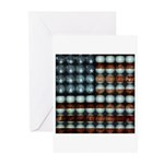 American Flag Creative Greeting Cards (Pk of 20)