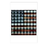 American Flag Creative Postcards (Package of 8)