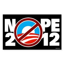 NOPE 2012 Decal