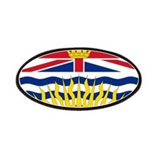 British Columbia Flag Patches