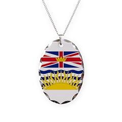 British Columbia Flag Necklace
