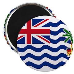 British Indian Ocean Territor Magnet