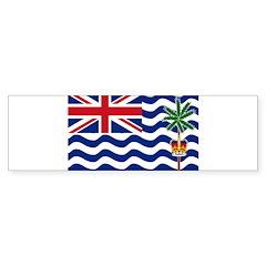 British Indian Ocean Territor Sticker (Bumper)