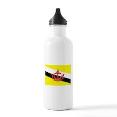 Brunei Flag Water Bottle