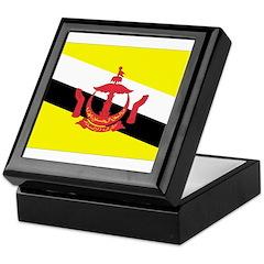 Brunei Flag Keepsake Box
