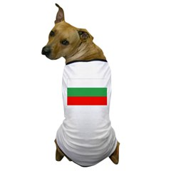 Bulgaria Flag Dog T-Shirt