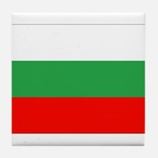 Bulgaria Flag Tile Coaster