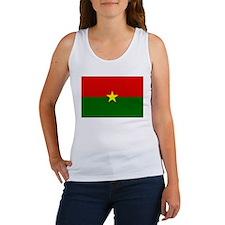 Burkina Faso Flag Women's Tank Top
